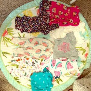 Newborn summer outfit lot!